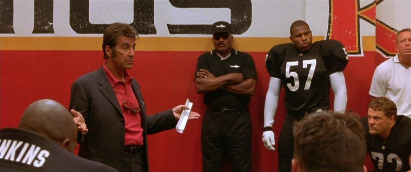 Al Pacino «L'enfer du dimanche» (Oliver Stone)
